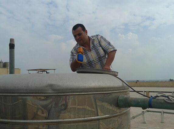 صورة نصائح تعقيم خزان الماء