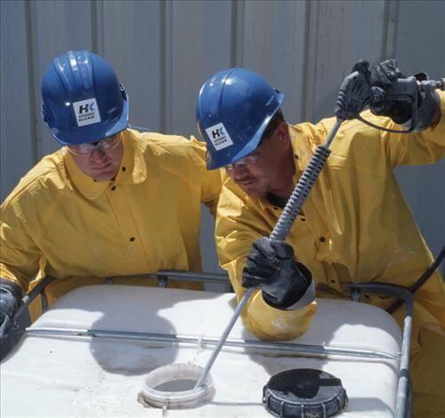 تطهير مياه الخزان بالطائف