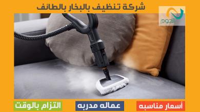 صورة شركة تنظيف بالبخار بالطائف